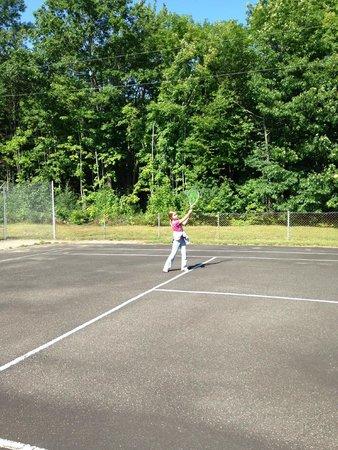 Lake Shore Salzburger Hof Resort: Tennis!