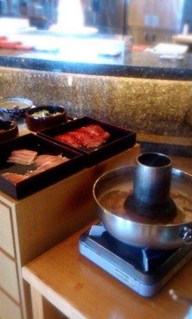 Laguna Garden Hotel: しゃぶしゃぶ食べ放題