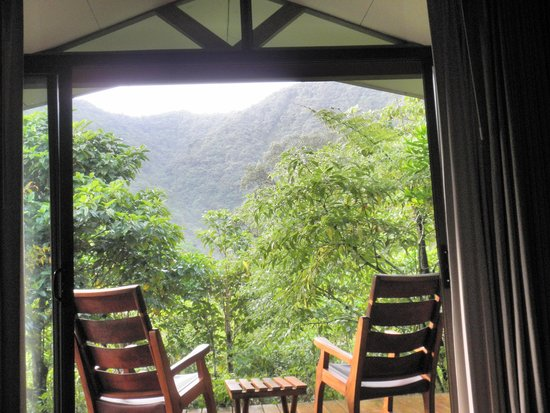 El Silencio Lodge & Spa : View from our room