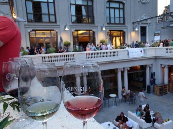 Kursaal Espai Gastronòmic: Vista desde la majestuosa terraza