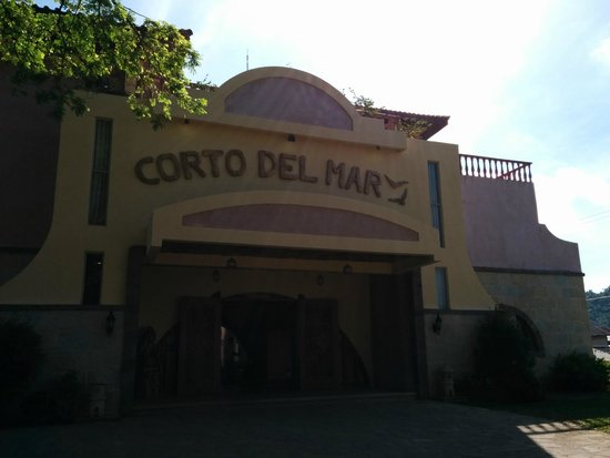 Corto del Mar Hotel: The Outer Facade of Corto del Mar