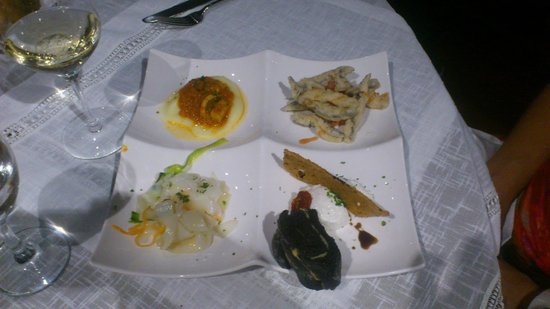 Terrazzamare restaurant : блюдо_2