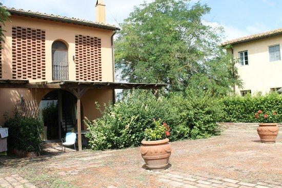 Castello di Cabbiavoli : heerlijk terras