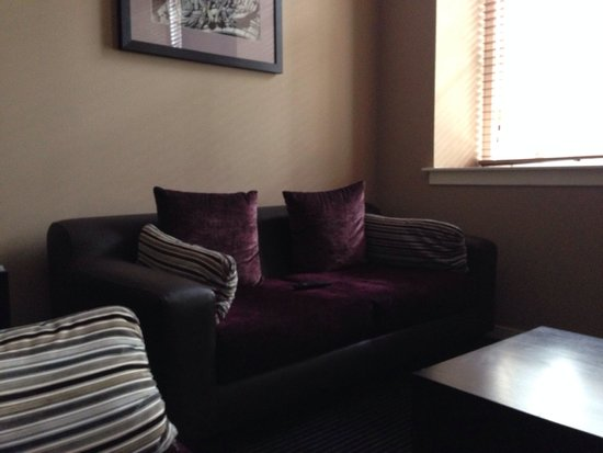 Fraser Suites Glasgow : Angolo salottino