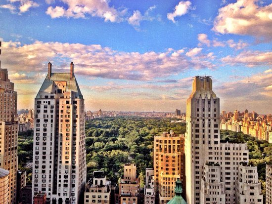 Le Parker Meridien New York: View from level 39 at LPM