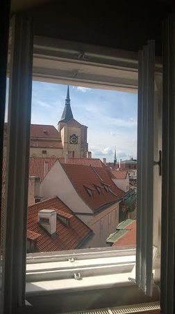 Palac U Kocku : View from our room