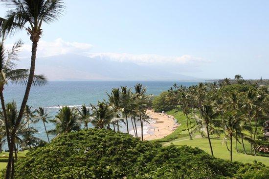 Wailea Beach Marriott Resort & Spa: View from our lanai - Ulua Beach