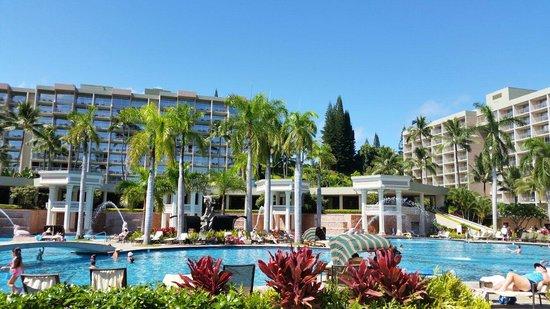 Marriott's Kaua'i Beach Club: Pool.  The best