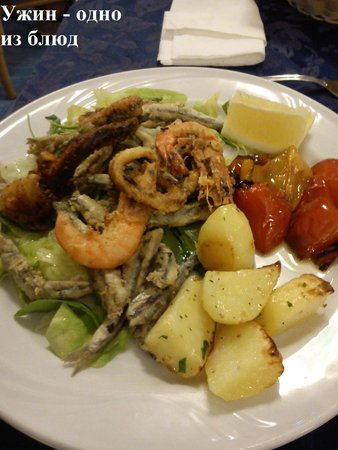 Hotel Belvedere : Ужин
