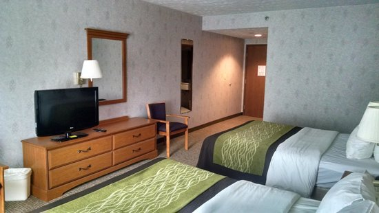 Comfort Inn Huntingdon : Guest Room