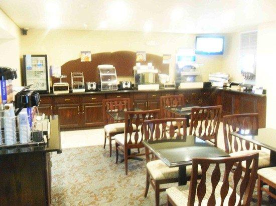 Holiday Inn Express Pendleton : Breakfast Area