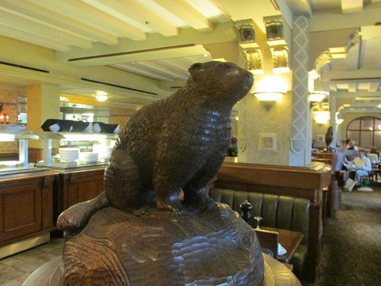 Fairmont Banff Springs: Majestic Beaver In Bow Valley Grill
