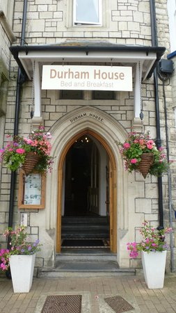 Durham House: Front entrance