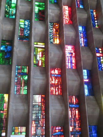 Coventry Cathedral: Stained glass windows