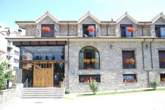Hotel Villa Virginia: Acceso principal del hotel
