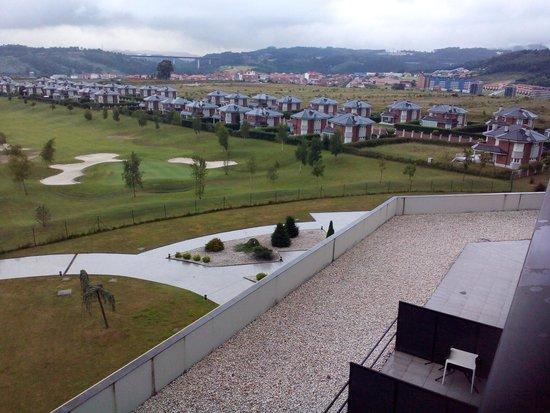 Hotel Zen Balagares: vistas al campo de gof