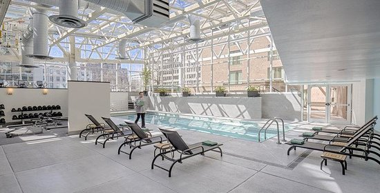 Hyatt Regency Washington on Capitol Hill: Relax & unwind at our sky-lit Pool, and get some energy on our sundeck or at one of the saunas!