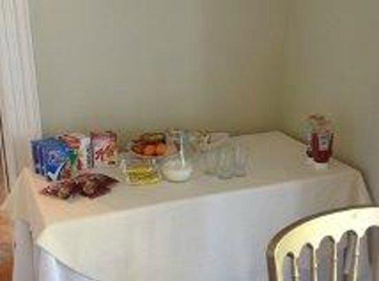 Dunedin Country House: et un buffet de petit déjeuner... surprenant!!!