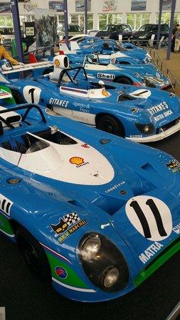 Musee automobile MATRA : Quelques voitures de légende