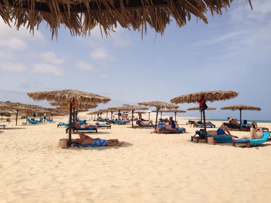 Royal Horizons Boa Vista : Spiaggia del villaggio