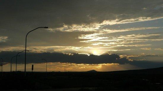 Sunset from Rio Grande Gorge Bridge Parking lot