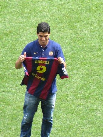 Camp Nou: Luis Suarez