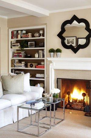 Lowell Hotel: Manhattan Suite Fireplace