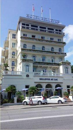 BEST WESTERN Hotel Bellevue Au Lac: The Hotel Bellevue in Lugano, Switzerland