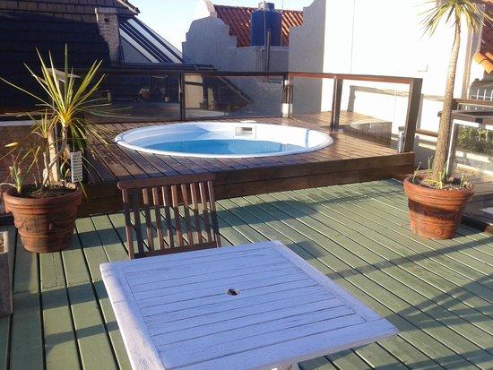 Best Western Pedro Figari Hotel: Solarium