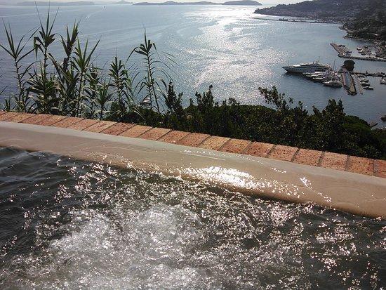 San Montano Resort & SPA: Piscine termali panoramiche