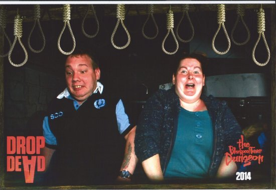 The Blackpool Tower Dungeon: The drop dead ride!