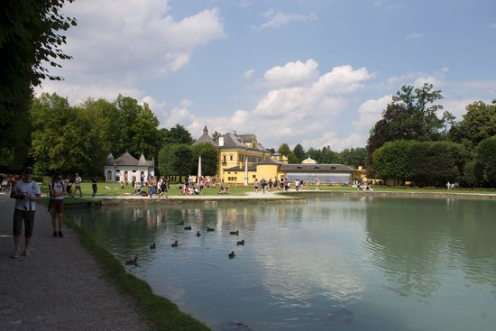 Schloss Hellbrunn: panorama