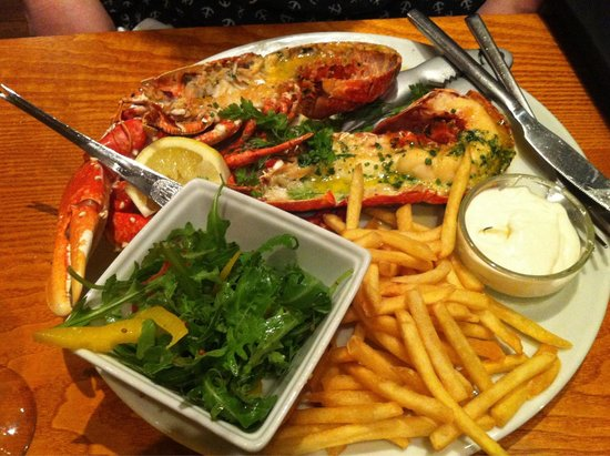 The Manor House: Best lobster we've had in a long time!