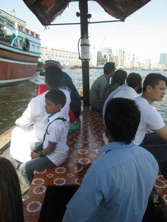 Dubai Creek: Boat ride!