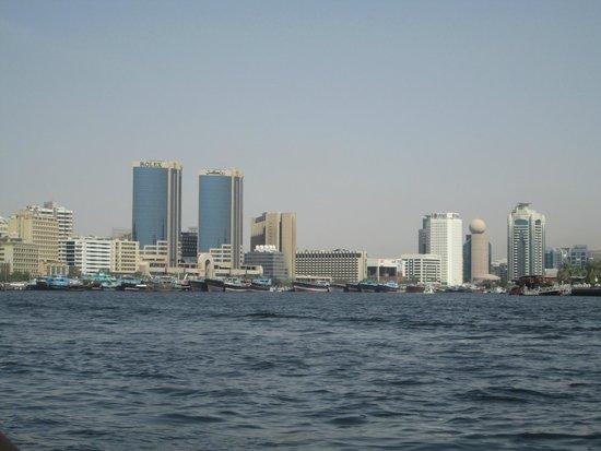 Dubai Creek: View of 'old Dubai'