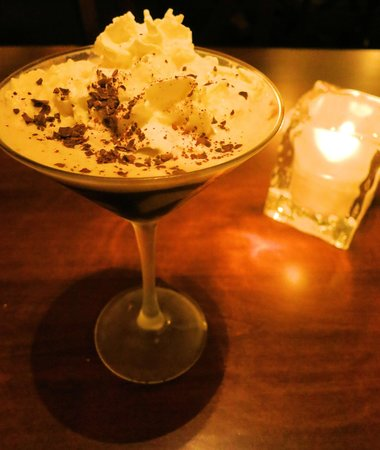 Blue Coyote Supper Club: Worlds best CHOCOLATE MARTINI