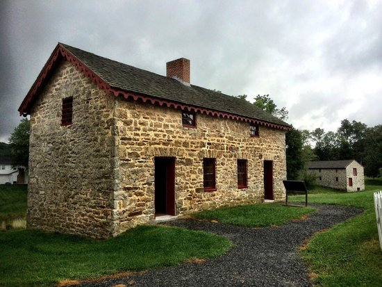 Hampton National Historic Site: Some of the worker quarters on the farm side if the park
