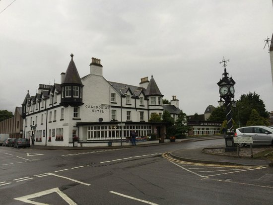 Caledonian Hotel: Hotel