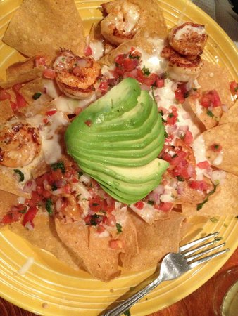 Don Pepper's Mexican Grill and Cantina: Shrimp Nachos