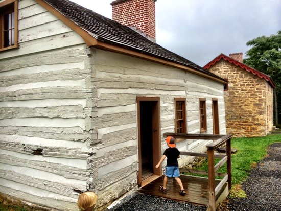 Hampton National Historic Site: Farm buildings