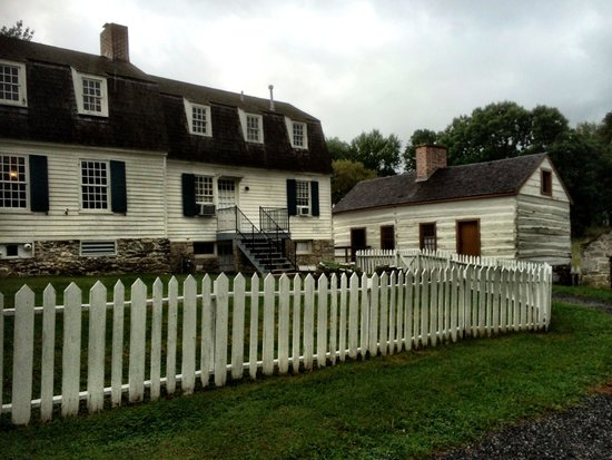 Hampton National Historic Site: Lower house on the farm side