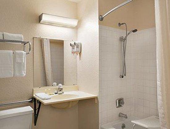 Super 8 Saginaw: ADA Bathroom