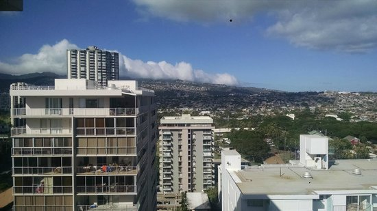 Queen Kapiolani Hotel : View from our room