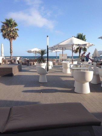 Hotel Best Maritim: Terraza junto al mar