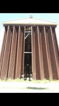 L'Hangar per dirigibili di Augusta