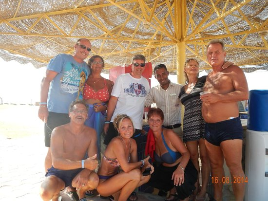 The Three Corners Sea Beach Resort : Einfach nur genial..unser Hassan.....