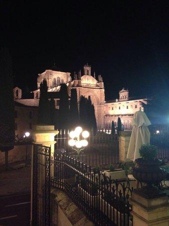 NH Collection Salamanca Palacio de Castellanos: Vista desde la puerta del hotel