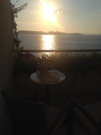 Valamar Dubrovnik President Hotel : toasting the sunset