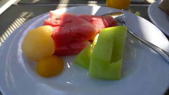 Iberostar Creta Marine: Assiette de fruits frais