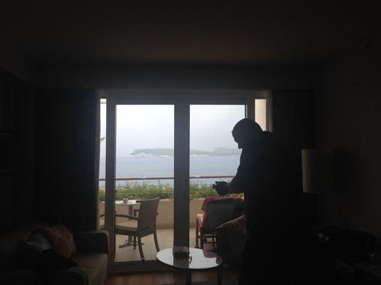 Valamar Dubrovnik President Hotel : only rained once whilst there